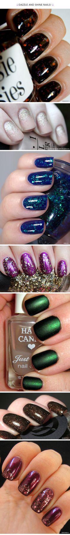 7 Dazzling Holiday Manicure Ideas