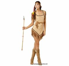 Naughty Galilahi Adult Indian Costume  sc 1 st  Pinterest & Native American Mistress Costume | Indian halloween costumes Indian ...