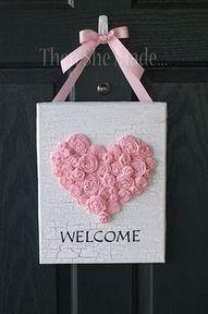 make a smaller version, red heart - so cute!