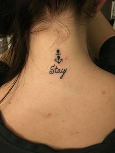 Semicolon anchor... Anchor for stability, semicolon for suicide awareness!