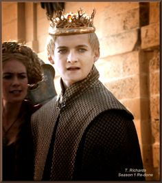 """""""Joffrey"""" ~ another in the ongoing project of re-capturing images from Season 1 and re-doing them. """"Season 1 Re-Done by T. Jack Gleeson, Game Of Thrones Costumes, Best Tv Shows, Winter Is Coming, Season 1, Random, Image, Fire, Ice"""