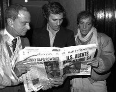 Roy Cohn, Ian Schrager, Steve Rubell
