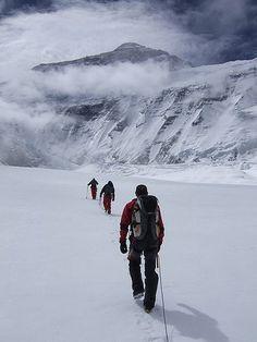 Hiking to the Everest, Himalaya, Nepal.