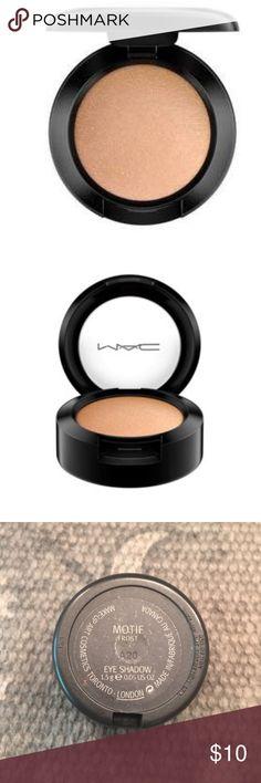 MAC EYE SHADOW MAC EYE SHADOW.  NOT NEW I JUST DONT USE.  Color is MOTIF Frost. MAC Cosmetics Makeup Eyeshadow