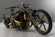 Black Widow Chopper