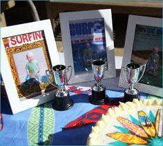 Kinser Event Company: {Real Party} Retro Surfer Party