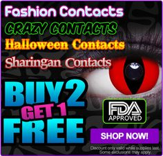 Novelty Contact Lenses - Made in the UK - Coolglow.com