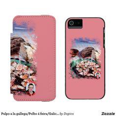 Pulpo a la gallega/Polbo á feira/Galician octopus Funda Cartera Para iPhone 5 Watson