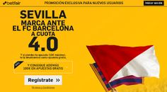 el forero jrvm y todos los bonos de deportes: betfair supercuota 4 Sevilla marca…