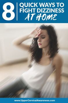 "8 Quick Ways to Fight Dizziness at Home ""If you suffer from dizziness on a regular basis, you are far from alone. Vertigo, in particular, is extremely common, especially as a person ages. Home Remedies For Dizziness, Home Remedies For Vertigo, Mental Illness Symptoms, Vertigo Relief, How To Relieve Nausea, Getting A Massage, Coping With Stress, Medical Facts"