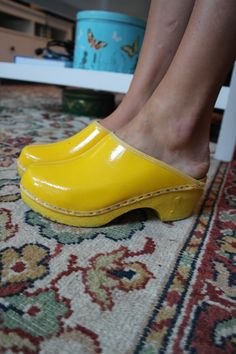 Wooden Clogs are Hot!