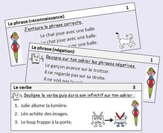 Exercices quotidiens en grammaire et conjugaison Learning French For Kids, Ways Of Learning, Learning Quotes, Education Quotes, French Flashcards, School Organisation, Grammar Games, Online Games For Kids, French Expressions