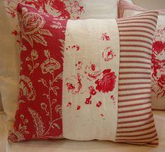 Tictac de casa TOiLE rojo y ropa de cama por Sassycatcreations
