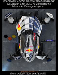 JAEGERTECH- Red Bull Stratos tribute
