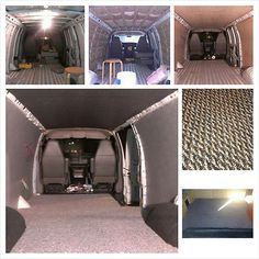 Camper Van Chevy Express 2500 Extended Beds Kitchen Solar More