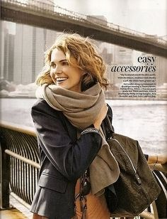 Fall Style. Just bought a bunch of knit infinity scarves online. Cannot wait until they get here. Pretty sure I bought one just like that