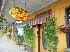 The Old Wheeler Hotel in Wheeler, Oregon, was a highlight of our road trip. #emptynest