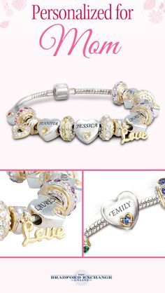 Honor the love of your mother's heart - her children! A meaningful Mother's Day gift, this personalized birthstone bracelet can be customized with up to 6 Swarovski crystal birthstones and 6 engraved names. Backed by the best guarantee in the business, with jewelry returns up to 120 days and free return shipping, and as always, our personalization is free. Create yours today!