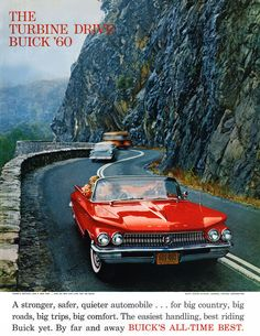 "goshyesvintageads: ""General Motors Corp, 1960 "" - My list of the best classic cars Vintage Advertisements, Vintage Ads, Retro Ads, Convertible, Automobile, Buy Classic Cars, Classic Auto, Buick Electra, Electra 225"