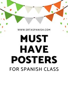 Check out ideas for Spanish classroom decor in elementary, middle, Spanish Classroom Decor, Classroom Displays, Middle School Spanish, Traveling Teacher, Word Poster, Spanish Lesson Plans, Classroom Routines, Spanish 1, Classroom Inspiration