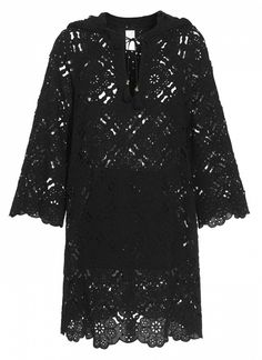 Zimmermann Hooded Anglaise Cotton Dress