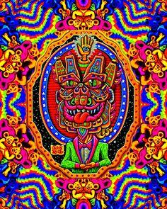 Trippy Visuals, Hippy Art, Aztec Art, Visionary Art, Purple Haze, Picture Collection, Psychedelic Art, Festival Fashion, Surrealism
