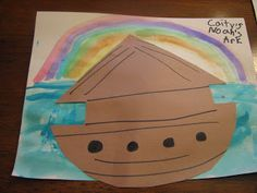 Easy Noah's Ark Craft