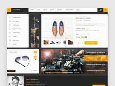 This commerce ui kit will help you speed up and create elegant designs. All components are crisp, with well layered elements. The colors used in the kit are well balanced, and the typography is top notch giving it a modern look. This freebie contains a lot of elements, so you can be sure to find anything you need for your project. The author of this awesome free psd is Muhammad Sohaib.