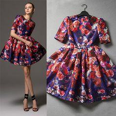 "Style: Fashion   Material: Silk  Color: As picture   Size: S / M / L / XL  S: Bust:84CM(33.07"") Shoulder:35CM(13.78"") Sleeve Length:28CM(11.02"") Length:83CM(32.68"") Waist:68CM(26.77"") M: Bust:88CM(34.65"") Shoulder:37CM(14.57"") Sleeve Length:29CM(11.42"") Length:84CM(33.07"") Waist:72CM(28...."