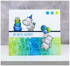 Hip, hippo, hooray! –   Lizland  