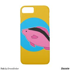 Fish iPhone 8/7 Case  #fish #art #abstract #colorful #minimal #illustration #animal #pet #zoo #cute #society6 #threadless #zazzle
