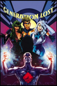 Captain Atom and Justice League: Generation Lost by Tony Harris