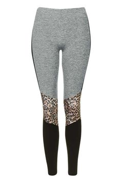 PETITE Leopard Print Leggings