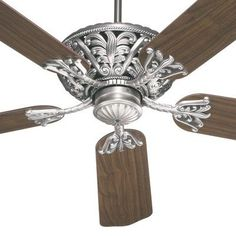 (CLICK IMAGE TWICE FOR UPDATED PRICING AND INFO) #home #homeimprovement  #ceilingfans #fans #ceiling #homedecor #ceilingligthing See more ceiling fans at http://www.zbrands.com/Ceiling-Fans-C34.aspx  Quorum Ceiling Fans - 52 Windsor 5 Blade Ceiling Fan Finish: Ancient Gold with Rosewood / Walnut Blades