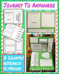 Flipbooks are a super way to inspire excitement in a research project. I heard… 6th Grade Social Studies, Social Studies Activities, Teaching Social Studies, Teaching Geography, Teaching Science, Teaching Resources, Country Report, Library Lessons, Future Classroom