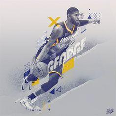 NBA Art Collection, Vol. 3 on Behance