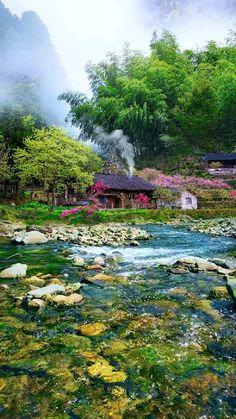 Beautiful Landscape Wallpaper, Beautiful Landscapes, Beautiful Gardens, Amazing Places On Earth, Beautiful Places To Travel, Beautiful Photos Of Nature, Amazing Nature, Beautiful Paintings Of Nature, Landscape Photography