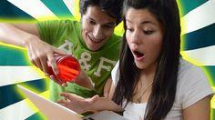 Broma: Se me cae el agua en tu laptop | LOS POLINESIOS BROMAS PLATICA PO...