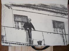 Moleskine #154 graphite pencil drawing