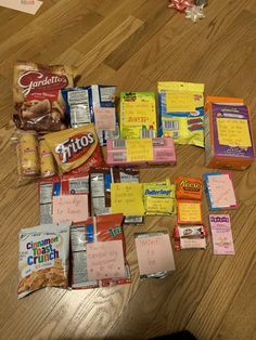 Punny care package to my Australian guy filled with American snacks and candy 💜 Crunch Cereal, Snack Recipes, Snacks, Work Party, Pop Tarts, Puns, Packaging, Fish, Holiday