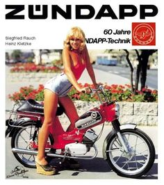 More mega sexy moped ladys from around the internets! Motorcycle Posters, Motorcycle Art, Car Posters, Vespa Girl, Scooter Girl, Small Motorcycles, Vintage Motorcycles, Vintage Cycles, Vintage Bikes