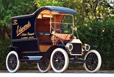1912 Ford Model T~At launch in 1908, The Model T was twice cheaper than any other car, at $850 (equivalent to $20,700 today). In 1913, the price dropped to $550 ($12,200 today), and $260 in 1924 ($2,900 today) because of increasing efficiencies of assembly line technique and volume.