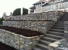 Image result for gabion retaining wall