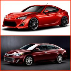 Santa has given you two options for a Christmas gift. Would you choose the 2013 Scion FR-S or the 2013 #Toyota Avalon?