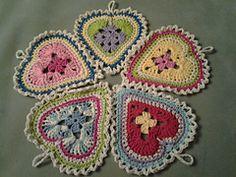 Ravelry: Granny Sweet Heart pattern by Nancy L Drew