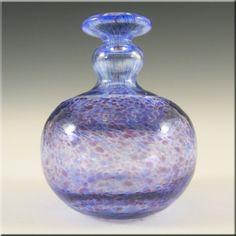 Kosta Boda Swedish Glass Vase - Signed Bertil Vallien Kosta Boda, Crystal Design, Blue Art, Bottle Art, Sweden, Glass Art, Perfume Bottles, Artisan, Pottery