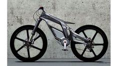 未来感たっぷり! 最高時速80kmの電動自転車をアウディが開発
