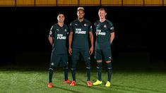 See what the Premier League clubs will wear for the new campaign as Raul Jimenez shows off Wolves' new third strip Mike Ashley, Newcastle United Fc, Season Ticket, S Class, 3 Kids, Preston, First Photo, Cool Shirts, Shit Happens