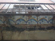 azulejos en balcón