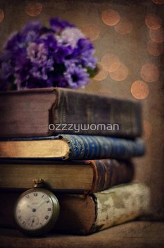 Old books by ozzzywoman Old Books, Leather, Antique Books